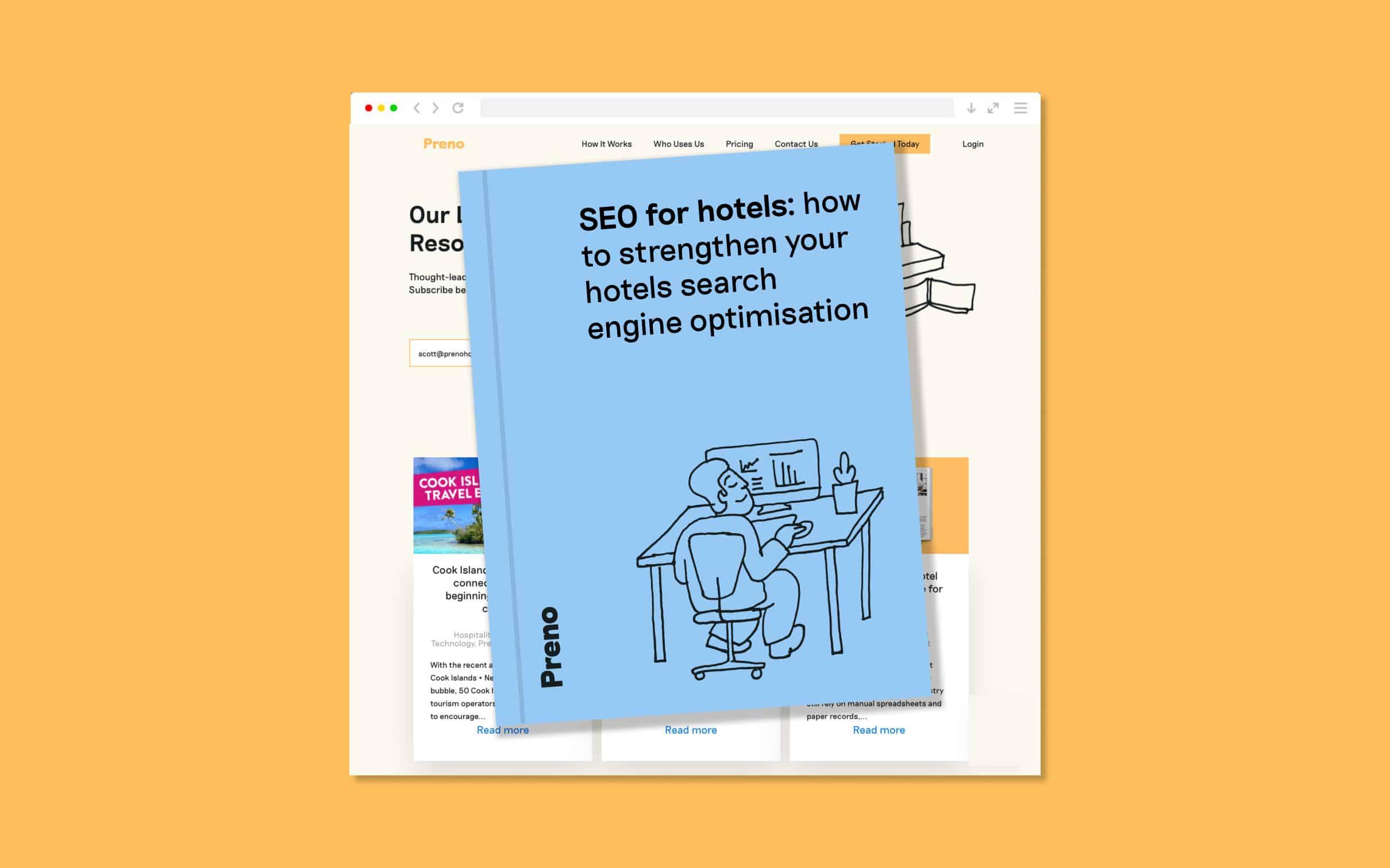 SEO for hotels Blog Image