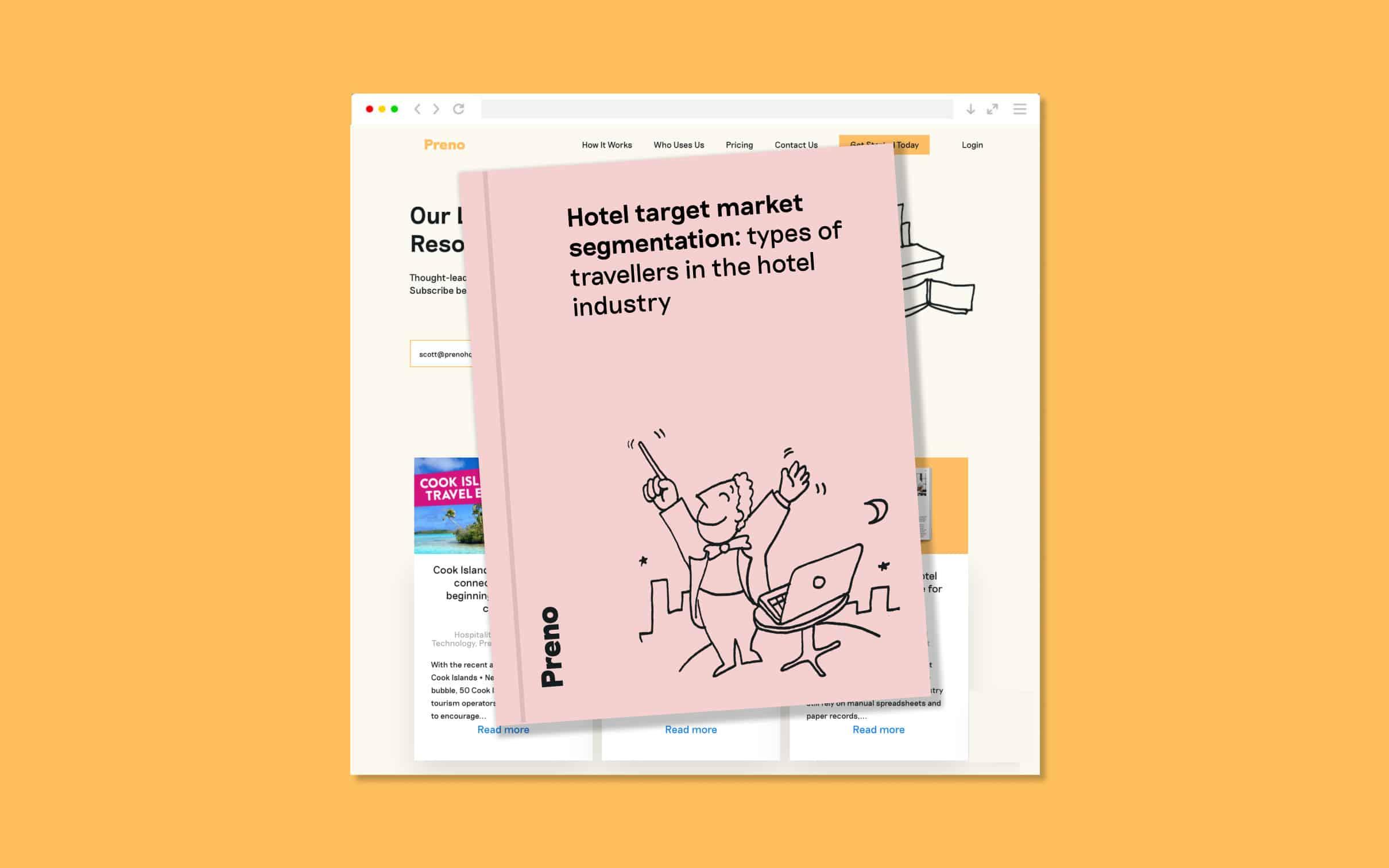 Hotel Target Market Segmentation Blog image